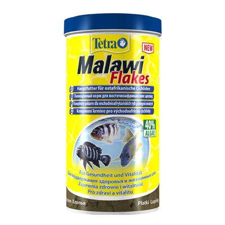 Купить Tetra Malawi Flakes Основной корм для всех видов восточноафриканских цихлид, 1 л