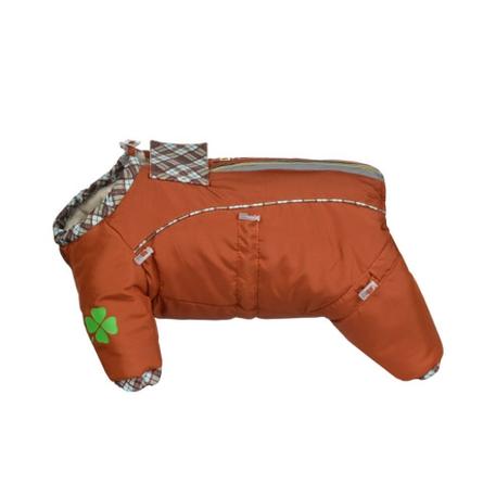 Купить DogModa Doggs Комбинезон теплый для собак, длина спины 35 см, обхват шеи 56 см, обхват груди 68 см, девочка
