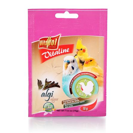 Vitapol VITALINE водоросли для птиц, 10 гр