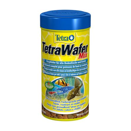 Купить TetraWafer Mix Основной корм для всех видов травоядных донных рыб, 100 мл