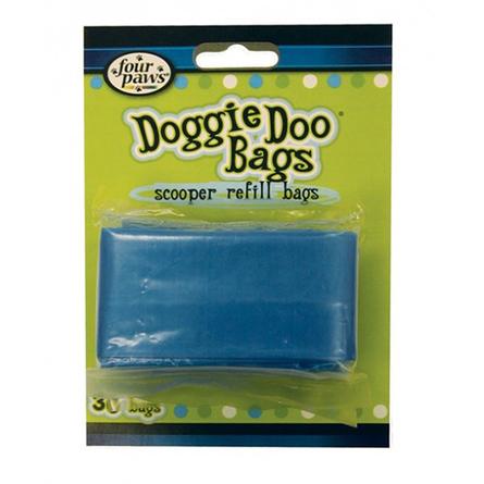 Four Paws Doggie Doo Гигиенические пакеты для уборки за животными, 30 шт