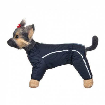 Купить DogModa Комбинезон теплый Альпы для собак, длина спины 20 см, обхват шеи 21 см, обхват груди 33 см, мальчик