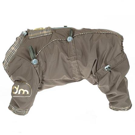 Купить DogModa Doggs Комбинезон с подкладкой для собак, длина спины 25 см, обхват шеи 33 см, обхват груди 48 см, девочка