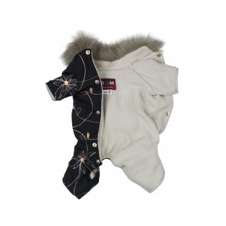 Купить DogModa Лола 3 Комбинезон тёплый для собак, девочка, чёрный