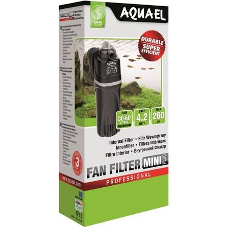 Купить Aquael Fan Mini Plus Внутренний помпа-фильтр для аквариумов 30-60 л, 260 л/ч, Aqua El