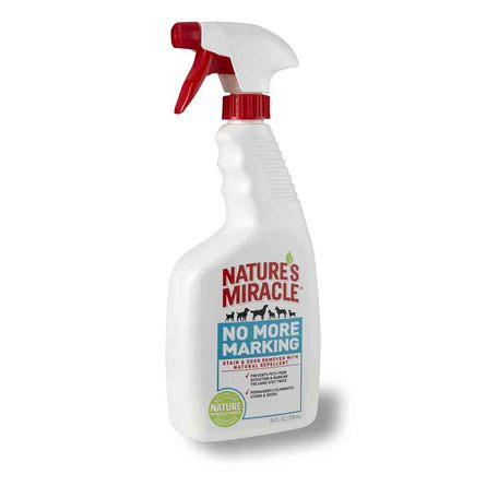 Nature's Miracle No More Marking Stain & Odor Remover Спрей для уничтожения пятен и запаха, 709 мл