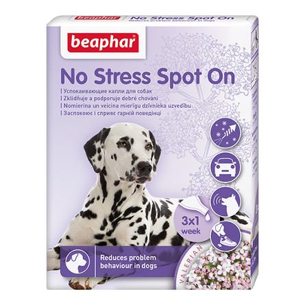 Beaphar No Stress Spot On Капли на холку для собак успокаивающие, 3 пипетки