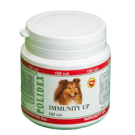 Polidex Immunity Up Кормовая добавка для собак для укрепления иммунитета, 150 таблеток фото