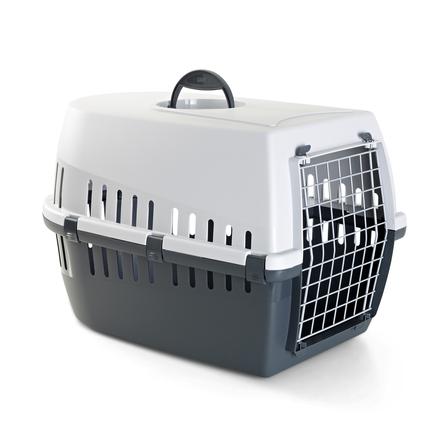 Savic Trotter 2 Пластиковая переноска для небольших животных, серая