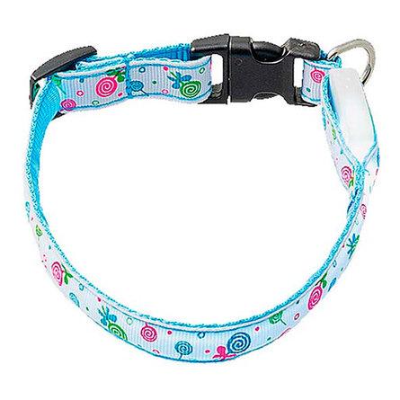 Купить Hello Pet Ошейник для собак, светящийся Леденцы , ширина 1, 5 см, длина, 18-28 см