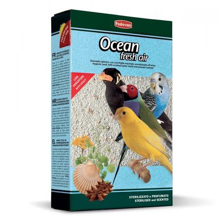 Купить Padovan OCEAN fresh air наполнитель био-песок для птиц, 1 кг