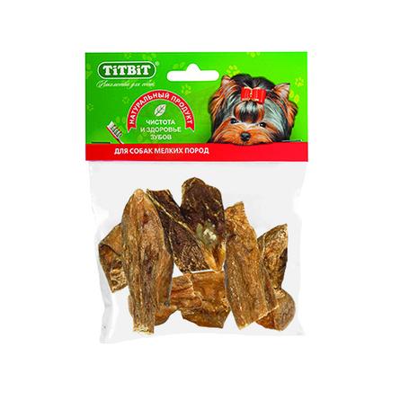 Купить TiTBiT Вымя говяжье мини для взрослых собак мелких пород