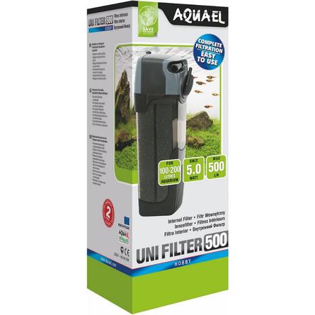Купить AquaEL UNIFILTER 500 Внутренний фильтр для аквариумов 100-200 л, 500 л/ч, Aqua El