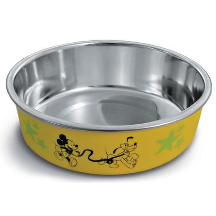 Triol Mickey & Pluto Миска для кошек и собак, с рисунком, нержавеющая сталь