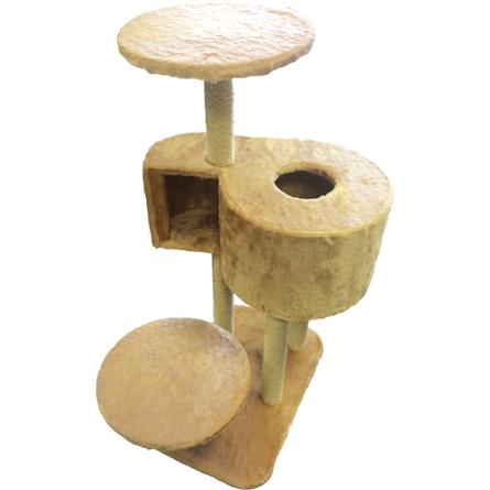 Купить CLP Комплекс с когтеточками и домиком-лабиринтом для кошек, сезаль