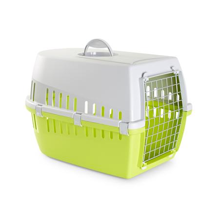 Savic Trotter 3 Пластиковая переноска для небольших животных, светло-зеленая
