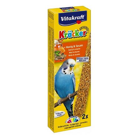 Купить Vitakraft Палочки для волнистых попугаев (с медом)