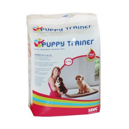 Savic Puppy Trainer L Пелёнки для щенков крупных пород, 15 шт фото