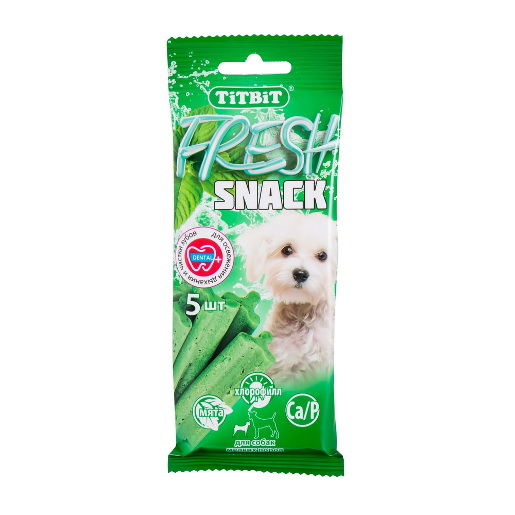 TiTBiT Fresh Snack лакомство для собак мелких пород