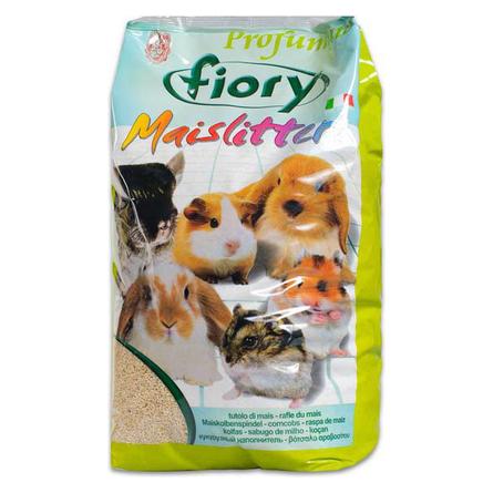 Fiory Кукурузный наполнитель для грызунов (с ароматом лимона), 5 л