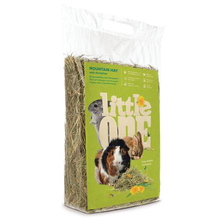 Little One Горное сено для грызунов с одуванчиком, 400 гр