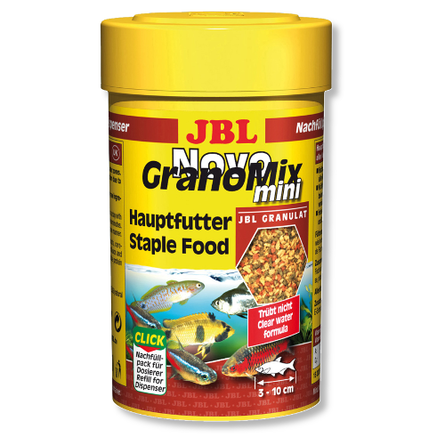 Купить JBL NovoGranoMix mini Корм для небольших рыб, гранулы, 100 мл