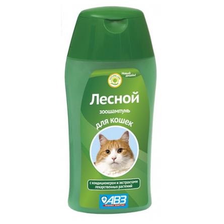 Купить АВЗ Лесной Шампунь для кошек, 180 мл