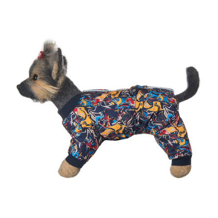 Купить DogModa Комбинезон Лаки для собак, длина спины 32 см, обхват шеи 33 см, обхват груди 52 см, мальчик