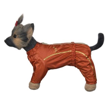 Купить DogModa Комбинезон Альпы для собак, длина спины 28 см, обхват шеи 29 см, обхват груди 45 см, девочка