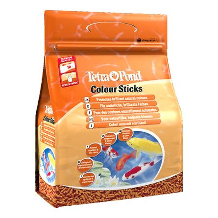 Купить Tetra Pond Colour Sticks корм для прудовых рыб для окраса, 4 л