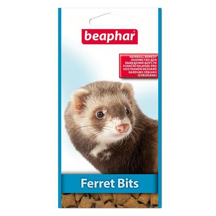 Beaphar Ferret Bits Лакомство для хорьков (подушечки), 35 гр