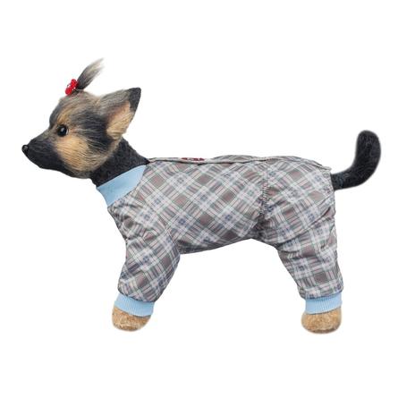 Купить DogModa Комбинезон Клетка для собак, длина спины 24 см, обхват шеи 25 см, обхват груди 39 см, унисекс