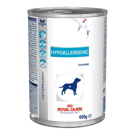 Купить Royal Canin Hypoallergenic Консервированный лечебный корм для собак при заболеваниях кожи и аллергиях, 400 гр