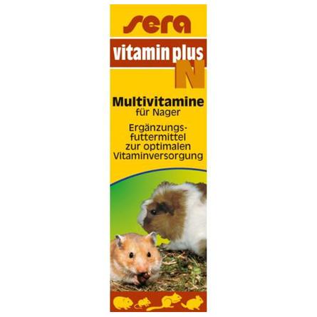 Купить Sera Vitamin Plus N Витамины для грызунов, 15 мл