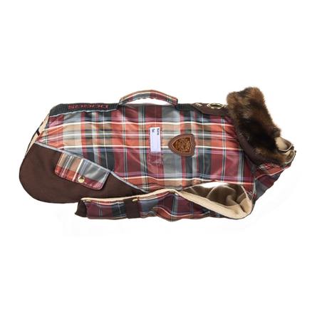 Купить DogModa Doggs Попона теплая для собак, длина спины 35 см, обхват шеи 46 см, обхват груди 56 см, девочка