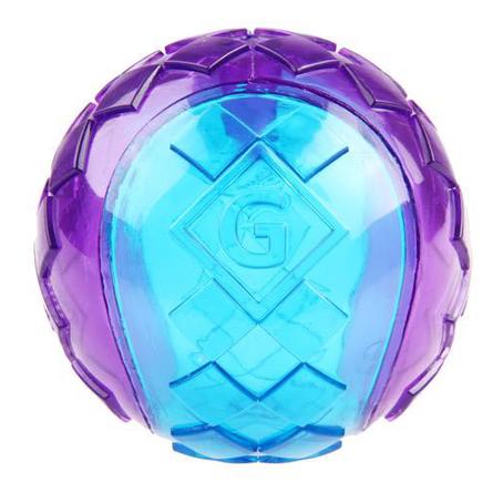 GiGwi Игрушка для мелких собак, три мяча с пищалками
