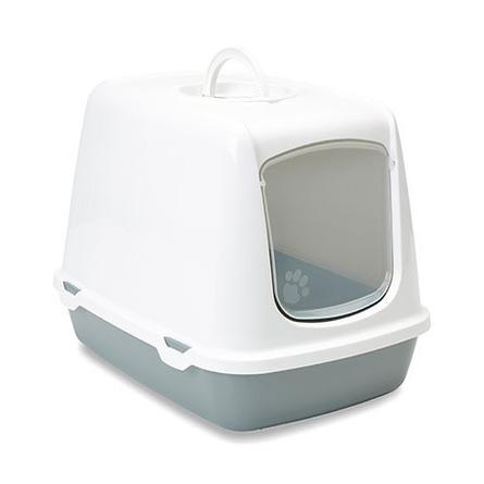 Купить Savic Oskar Туалет-домик для кошек, серый