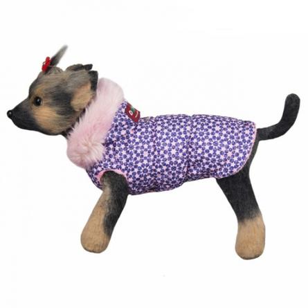 DogModa Куртка Аляска для собак, длина спины 20 см, обхват шеи 21 см, обхват груди 31 см, девочка  - купить со скидкой