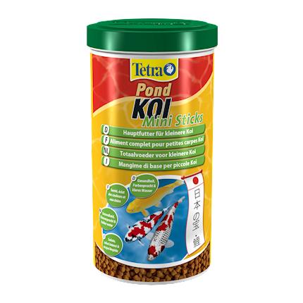 Купить Tetra Pond Koi Mini Sticks корм для молодых прудовых рыб, 1 л