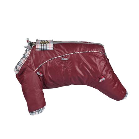 Купить DogModa Doggs Комбинезон с подкладкой для собак, длина спины 35 см, обхват шеи 52 см, обхват груди 68 см, девочка