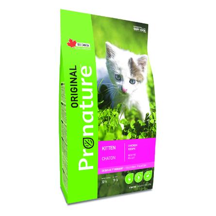 Pronature Original NEW Сухой корм для котят (с курицей), 2,27 кг фото