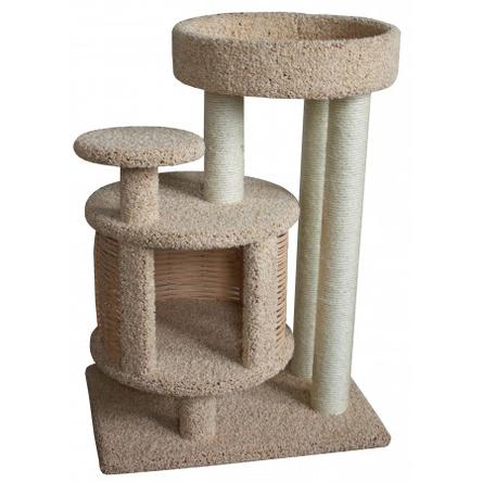Купить Пушок Когтеточка-комплекс Эдуська для кошек, сезаль