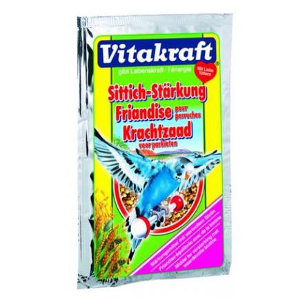 Купить Vitakraft Perls Подкормка для волнистых попугаев Укрепление организма, 30 гр
