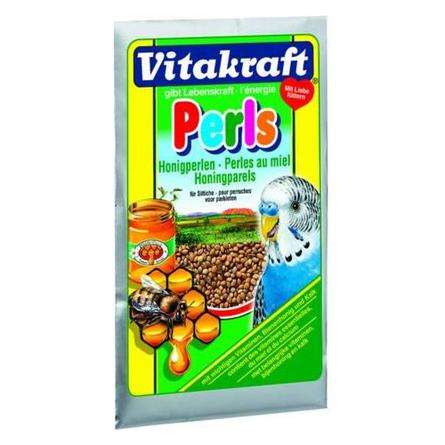 Купить Vitakraft Perls Подкормка медовая для волнистых попугаев, 20 гр
