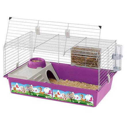 Ferplast CAVIE 80 DECOR клетка для кроликов и морских свинок