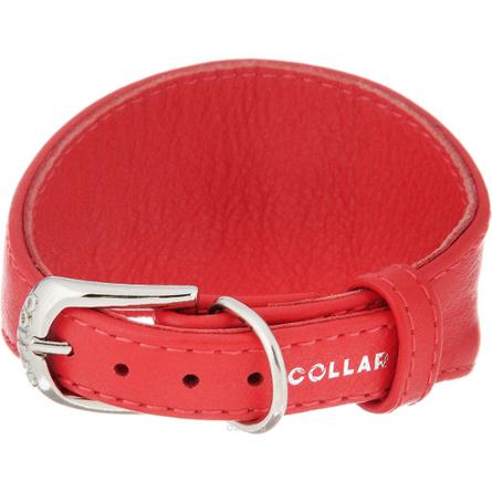 Купить Collar Glamour Ошейник без украшений для борзых собак, ширина 2 см, длина 34-40 см, красный