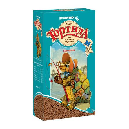 Тортила-М Корм для водных черепах, гранулы, 90 гр