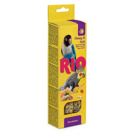 Rio Палочки для средних попугаев (с мёдом и орехами), 150 гр