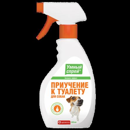 УМНЫЙ СПРЕЙ Приучение к туалету для собак , 200 мл