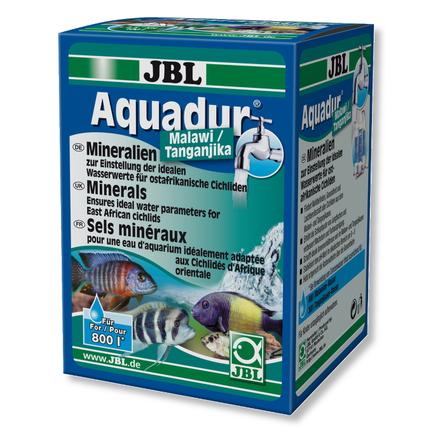 JBL Aquadur Malawi/Tanganjika Кондиционер с минеральными солями для аквариумов с рыбами из озёр Малави и Танганьика, 250 гр